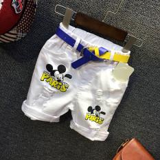 Ac126 anak-anak celana denim celana (Seperti gambar di celana putih AV126)