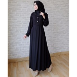 Review Toko Ace Fashion Long Sleeve Maxi Aida Black