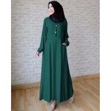 Jual Ace Fashion Long Sleeve Maxi Aida Tosca Import
