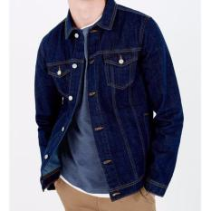 Cuci Gudang Adamsbell Jaket Jeans Denim Men S Exclusive Bluewash