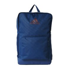 Diskon Adidas 3 Stripes Backpack Mystery Blue Maroon Akhir Tahun