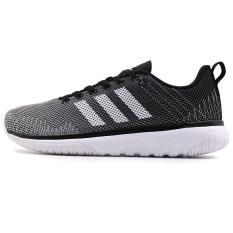 Adidas Sepatu Sneakers Musim Panas Baru Sepatu Santai Sepatu Berlari (Murni Abu-abu/1 Hitam/Putih)