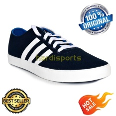 Harga Adidas Casual Sports Easy Vulc Vs Aw4633 Navy White Online Indonesia