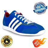 Adidas Casual Sports Vs Jog Aw4703 Blue White Murah