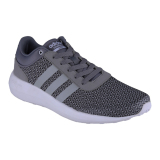 Review Terbaik Adidas Cloudfoam Race Men S Shoes Clear Onix Grey