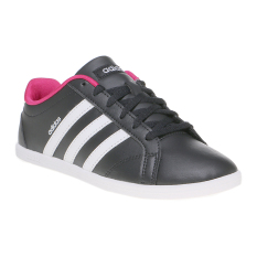 Jual Beli Adidas Coneo Qt Women S Shoes Core Black White Matte Silver Di Indonesia