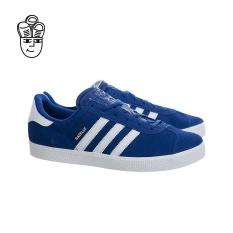Adidas Gazelle 2 Sepatu Retro Biru/putih-putih Ba9317-Intl