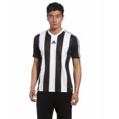 Jual Adidas Jersey Bola Team Estro13 Stripes Black White Original Z38462 Termurah