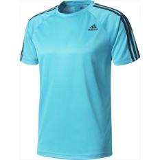 Jual Beli Online Adidas Kaos D2M 3 Stripes Tee Bk0967 Biru