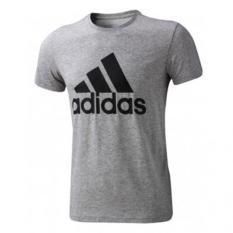 Review Adidas Kaos Logo Essentials S23016 Abu Di Jawa Barat