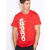 Promo Adidas Kaos Olahraga Ess Linear Ay7181 Merah Akhir Tahun