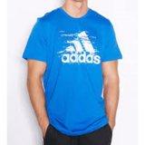 Jual Adidas Kaos Olahraga Ess Logo Ay7174 Biru Branded Murah