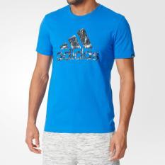 Review Adidas Kaos Olahraga Urban Logo Ay7227 Biru Adidas Di Dki Jakarta
