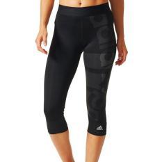 Adidas Legging anti UV techfit badge compression - BQ9495 - hitam