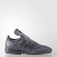 ADIDAS Pria Mundial Tim Sepatu Sepak Bola Abu-abu CG3701 UK6.5-10.5 04'-Intl