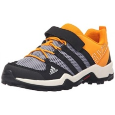 Adidas Outdoor AX2 CF Sepatu Hiking, Onix/Core Black/Peralatan Orange, US Big Kid-Intl