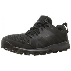 Adidas Outdoor Mens Kanadia 8 Trail Running Shoe, Black/Besi Metalik/Utility Black, KAMI-Internasional