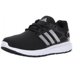 Adidas Performance Womens Energi Cloud W Running Shoe, Black/Tech Silver/Tech Silver, Medium KAMI-Internasional