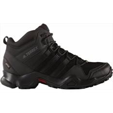 Jual Adidas Sepatu Outdoor Terrex Ax2R Mid Gtx Bb4602 Hitam Abu Murah