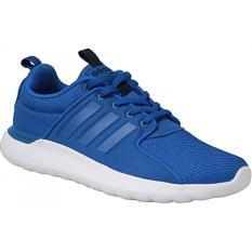 Daftar Harga Adidas Sepatu Running Cloudfoam Lite Racer Aw4028 Biru Adidas