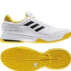 Harga Hemat Adidas Sepatu Tennis Barricade Court By1647 Putih