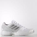 Kualitas Adidas Sepatu Tennis Barricade Court W Bb4828 Putih Silver Adidas