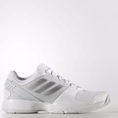 Spesifikasi Adidas Sepatu Tennis Barricade Court W Bb4828 Putih Silver Murah Berkualitas