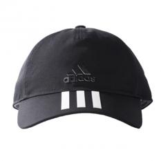 Review Terbaik Adidas Six Panels 3 Stripes Cap Cotto Topi Pria Black White
