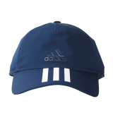 Promo Adidas Six Panels 3 Stripes Cap Cotto Topi Pria Blue White Akhir Tahun