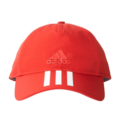 Beli Adidas Six Panels 3 Stripes Cap Cotto Topi Wanita Red White Adidas