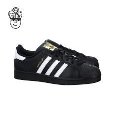 Diskon Adidas Superstar Foundation Retro Sepatu Bola Basket Hitam Putih Hitam B27140 Sh