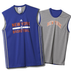 Adidas Winter NBA New York Knicks Reversible Tank / Jersey Basket ORIGINAL AA7950