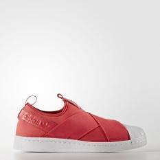 Iklan Adidas Women Superstar Slipon Original Shoe Core Pink Bb2118 Uk3 5 6 5 02