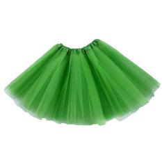 Dewasa Remaja Gadis Tutu Balet Rok Tulle Kostum Fairy Party Hens Night Hijau
