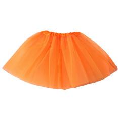 Dewasa Remaja Gadis Tutu Balet Rok Tulle Kostum Fairy Party Hens Night Orange