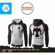 Diskon Aduuh Jaket Game Dota 2 Special Nevermore Jacket Hoodie Jg Dot 24 Best Seller Black Grey Aduuh Jawa Barat