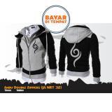 Beli Aduuh Jaket Hoodie Anbu Double Zipper Jaket Ninja Naruto Kakashi Sasuke Sakura Best Seller Grey Black Terbaru