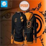 Toko Aduuh Jaket Hoodie Zipper Harajuku Naruto Kyuubi Seal Hoodie Black Aduuh Jawa Barat