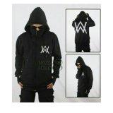 Jual Aduuh Jaket Hoodie Zipper Ninja Alan Walker Black Original