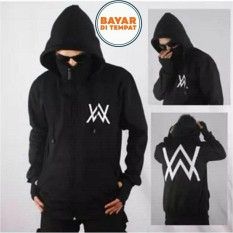 Aduuh Jaket Hoodie Zipper Ninja Alan Walker - Black