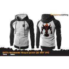 Aduuh Jaket Jaket Game Dota 2 Special Nevermore Jacket Hoodie Jg Dot 24 Best Seller Black Grey Terbaru