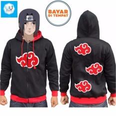 Penawaran Istimewa Aduuh Jaket Naruto Awan Merah Naruto Anime Ninja Akatsuki Best Seller Black Terbaru