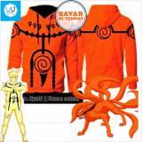 Toko Aduuh Jaket Naruto Mode Kyuubi Best Seller Orange Dekat Sini