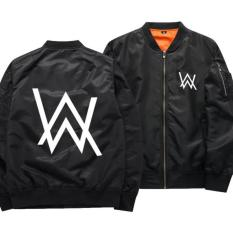 Beli Aduuh Jaket Pilot Bomber Zipper Dj Alan Walker Import Product Best Seller Black Online Murah