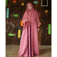 Harga Adzra Gamis Murah Syari Busana Muslim Wanita Amira Dress Online Indonesia