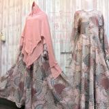 Ulasan Lengkap Tentang Adzra Gamis Murah Syari Busana Muslim Wanita Olinda Dress Coklat