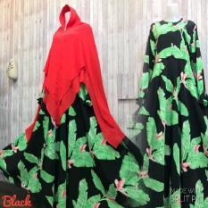 Toko Adzra Sale Promo Gamis Murah Gamis Wanita Busana Muslim Wanita Kana Dress Hitam Terdekat