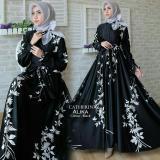 Jual Beli Afifahstore Gamis Syari Muslim Wanita Busui Gaun Muslimah Maxi Dress Lengan Panjang Caterina