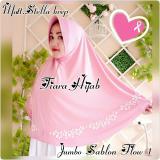 Spesifikasi Afkan Hijab Instan Tiara Jumbo Merah Muda Murah Berkualitas
