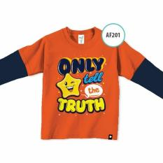 Afrakids Baju Anak Muslim Branded Lengan panjang only tell the truth